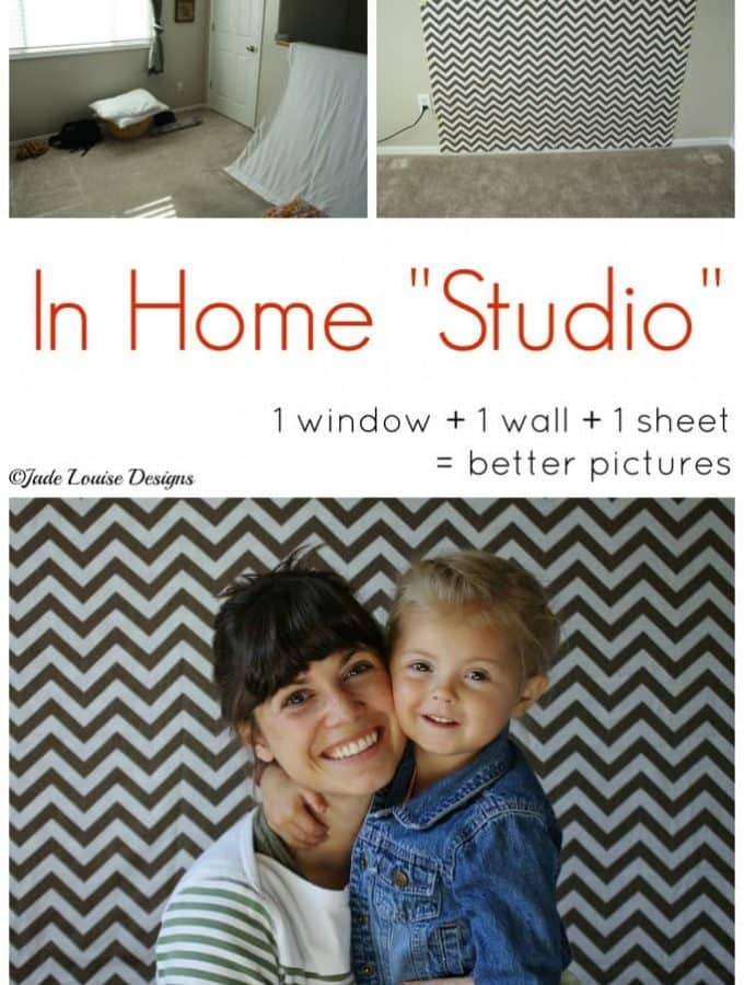 Create an In Home Photography Studio in Minutes!