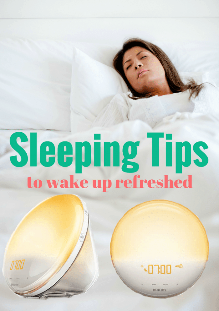 Sleeping tips to wake-up refreshed
