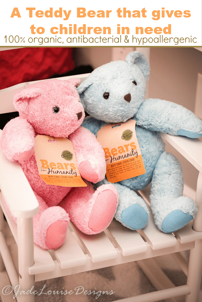 A Teddy Bear that brings double the Smiles To Kids in Need