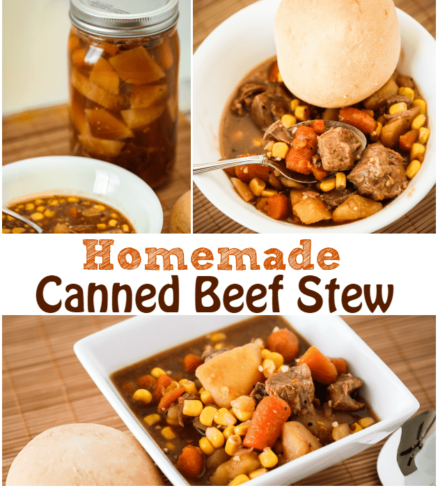 Canned Beef Stew Recipe with a pressure cooker
