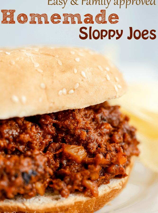 Best Homemade Sloppy Joes Recipe