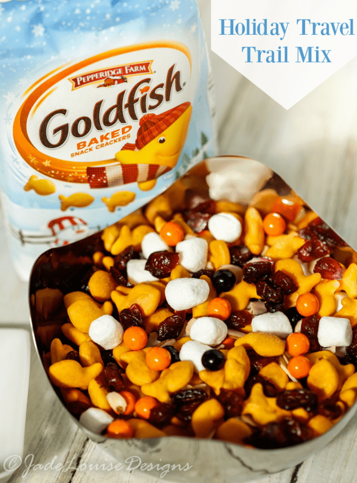 Fun Travel Goldfish Trail mix fun