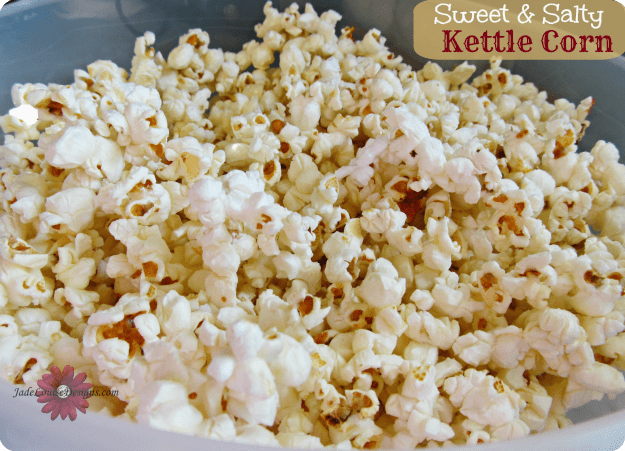 Kettle Corn Recipe, How to make Kettle Corn at home; Mom's Tricks and Treats
