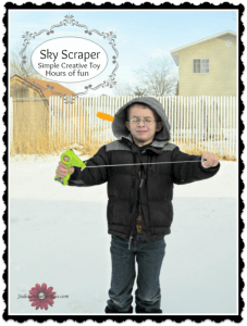 Sky Scraper creative toy from Aeromax Simple toys for hours of fun