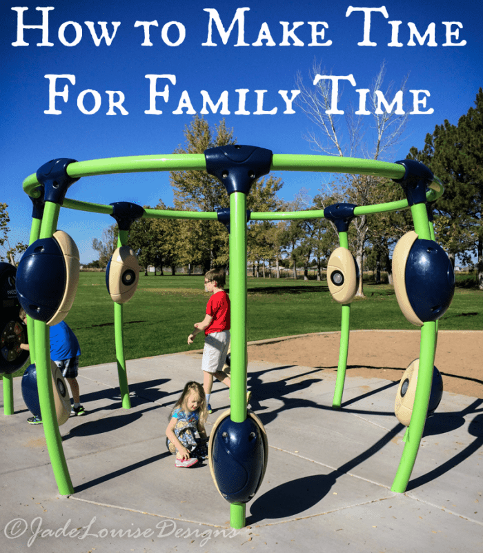 Making time for Family Time and your pets