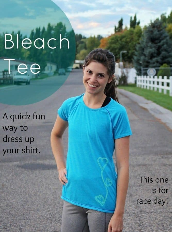 How to Make a Bleach Tee