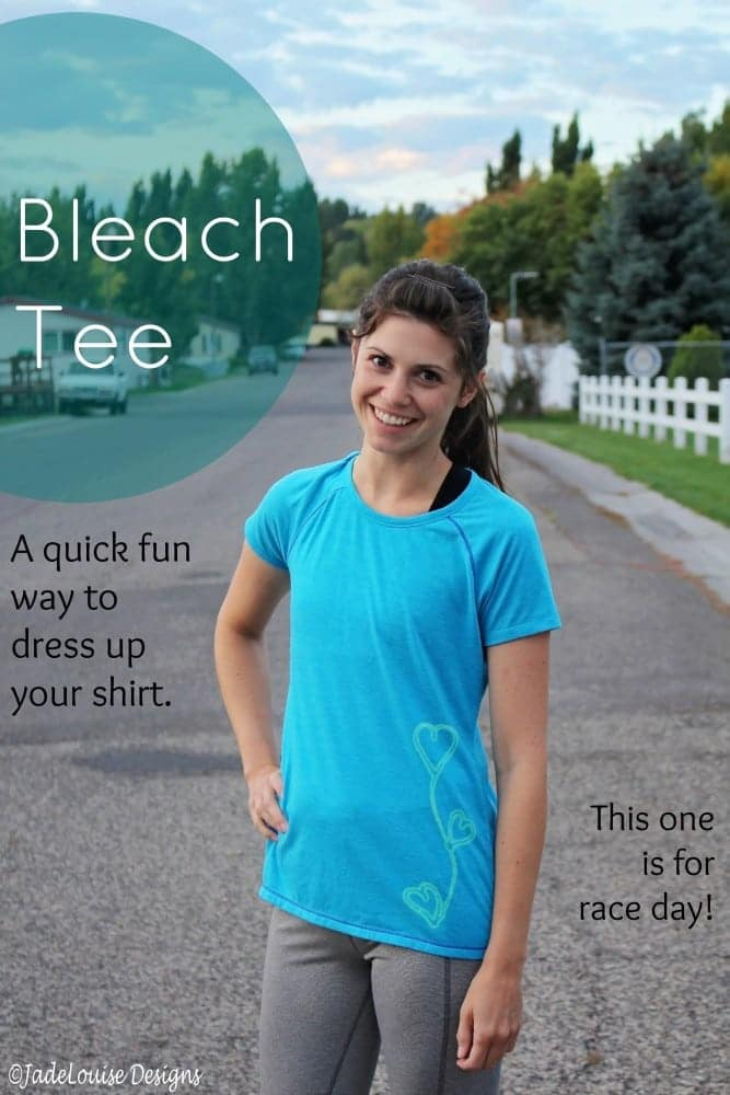 how to make a bleach tee. Black Bedroom Furniture Sets. Home Design Ideas