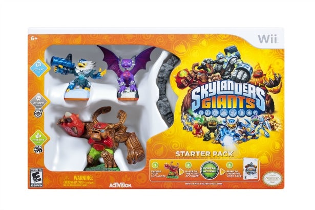 Skylanders Giants Starter Pack, Top Video Game for the Family #Holidaygiftguide
