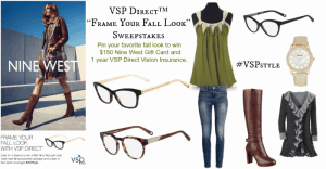 Frame your Fall Look and Win with VSP Direct! #VSPStyle