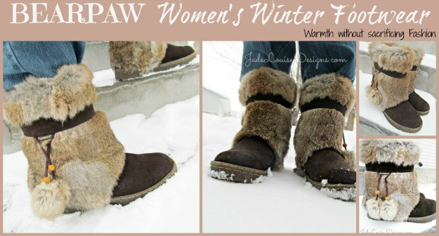 BEARPAWS Fashion Footwear, Warmth and Fashion Meet to Compliment.