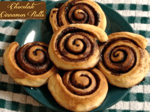 Chocolate Cinnamon Rolls Recipe- a Hungarian Treat