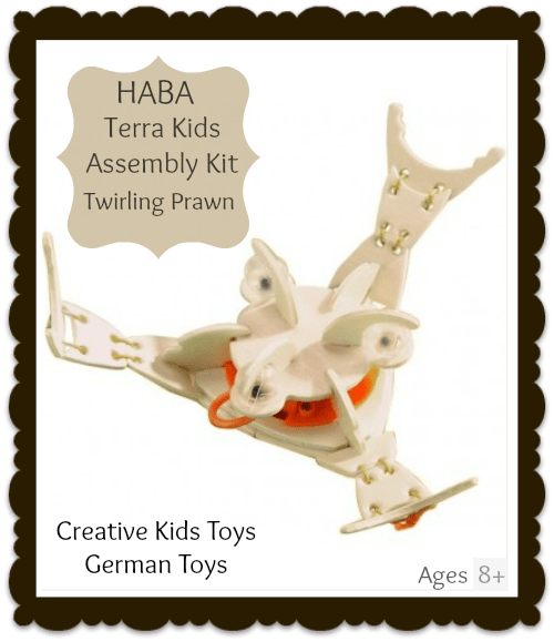 Haba Terra Kids Assembly Kit Twirling Prawn Kids Toy