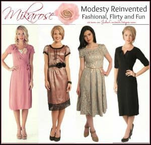 Modesty Reinvented to meet Fashion with Mikarose