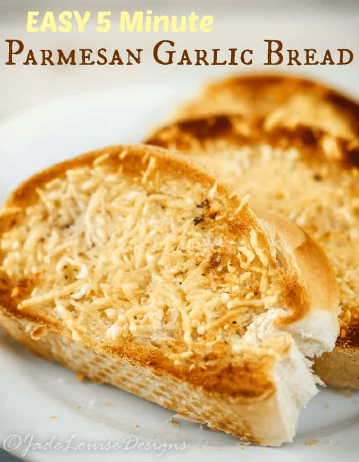 Easy Parmesan Garlic Bread and the Magic in Mealtime