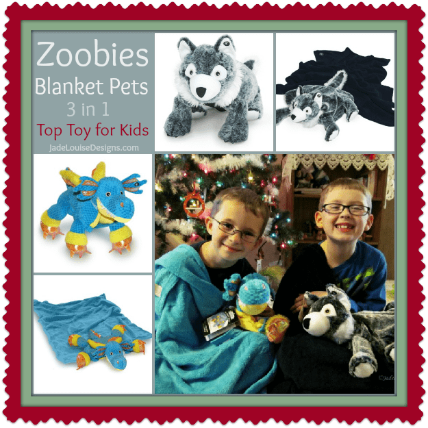 Zoobies Blanket Pets make Great gifts for Kids #Holidaygiftguide
