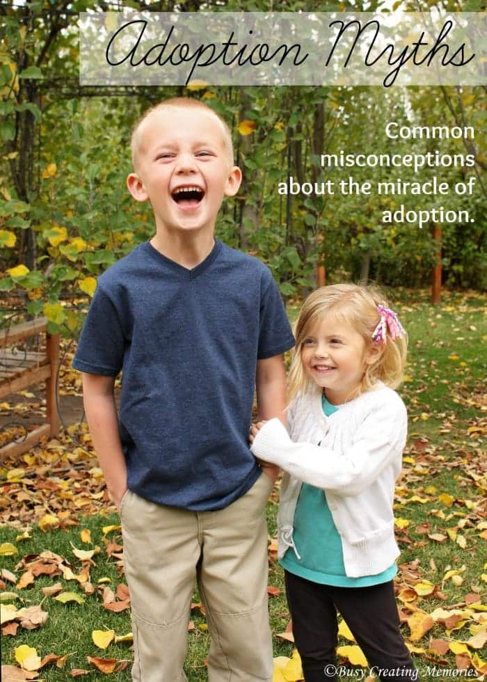 Adoption Myths - common misconceptions about adoption