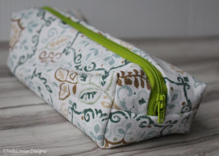 Easy Sew Box Pouch