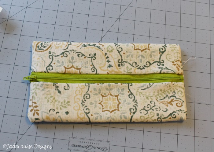 Flat pouch - not finished yet!