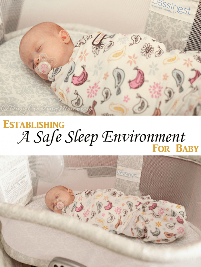 Establishing a safe sleep Environment for Baby with HALO Bassinest