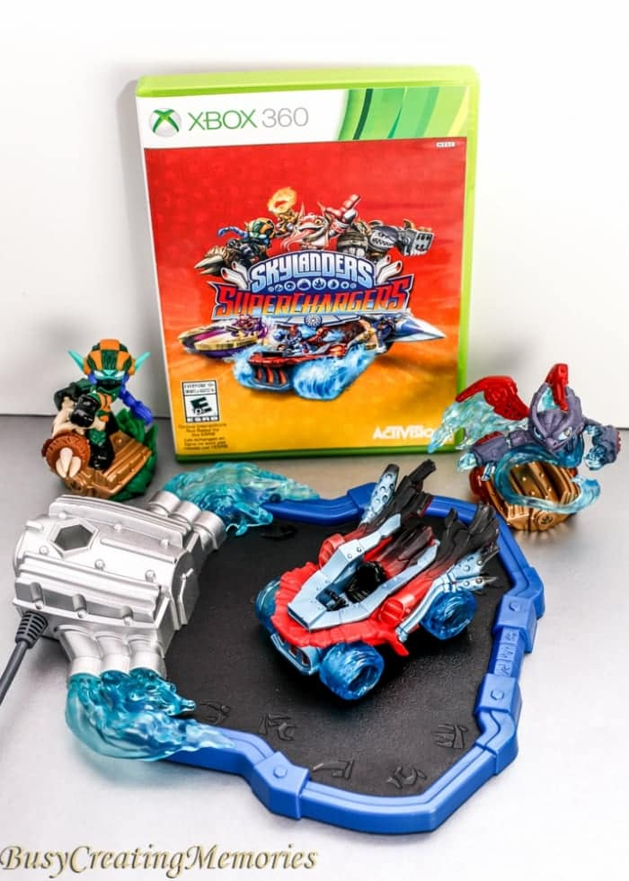 Skylanders Superchargers Offers hours of Family fun