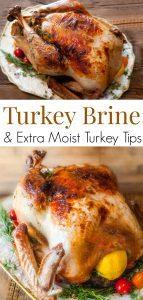 Citrus & Herb Turkey Brine Recipe for an amazingly Juicy Thanksgiving Turkey!