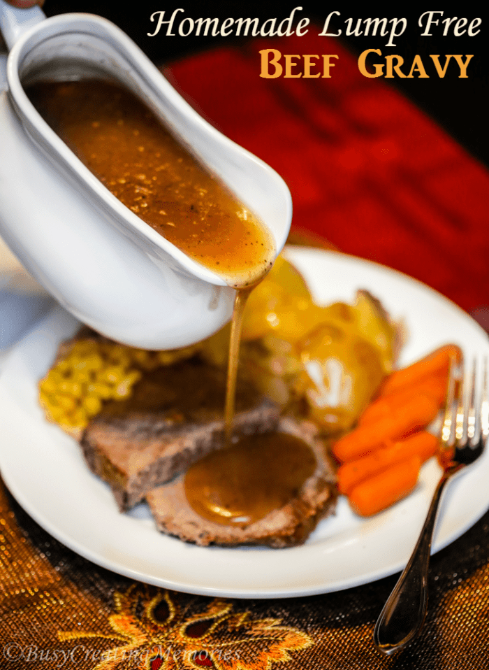 Lump free homemade gravy recipe for How to make beef gravy from drippings
