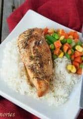 Easy Italian Baked Chicken Simple 5 ingredient Frozen Chicken breast recipes