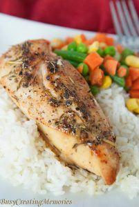 Italian Baked Chicken Recipe 5 Ingredients Frozen Chicken