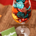 Thank a Veteran with a Thankful For you Goblet Gift Idea