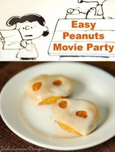 How to Create a Peanuts Movie Party in 5 easy steps