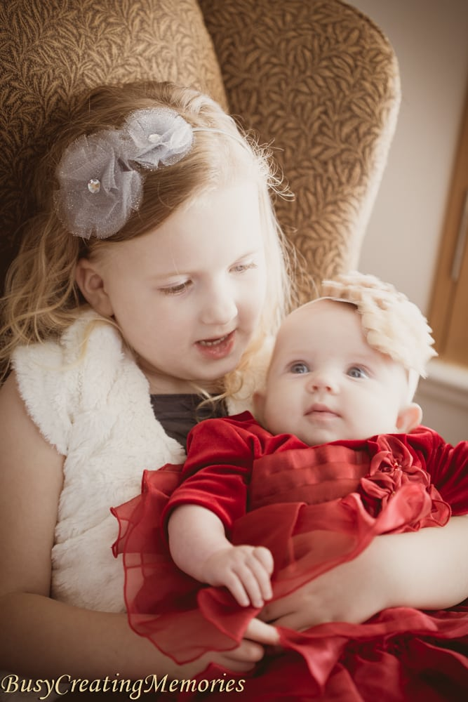 The Christmas Dress Tradition for Family Portraits