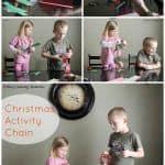 Christmas Activity Countown Chain