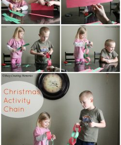 Christmas Activity Countown Chain