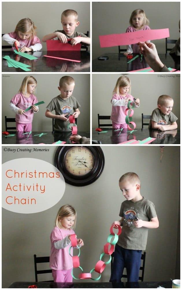 Christmas Activity Chain