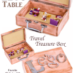 DIY Travel Lego Table Treasure Box Tutorial