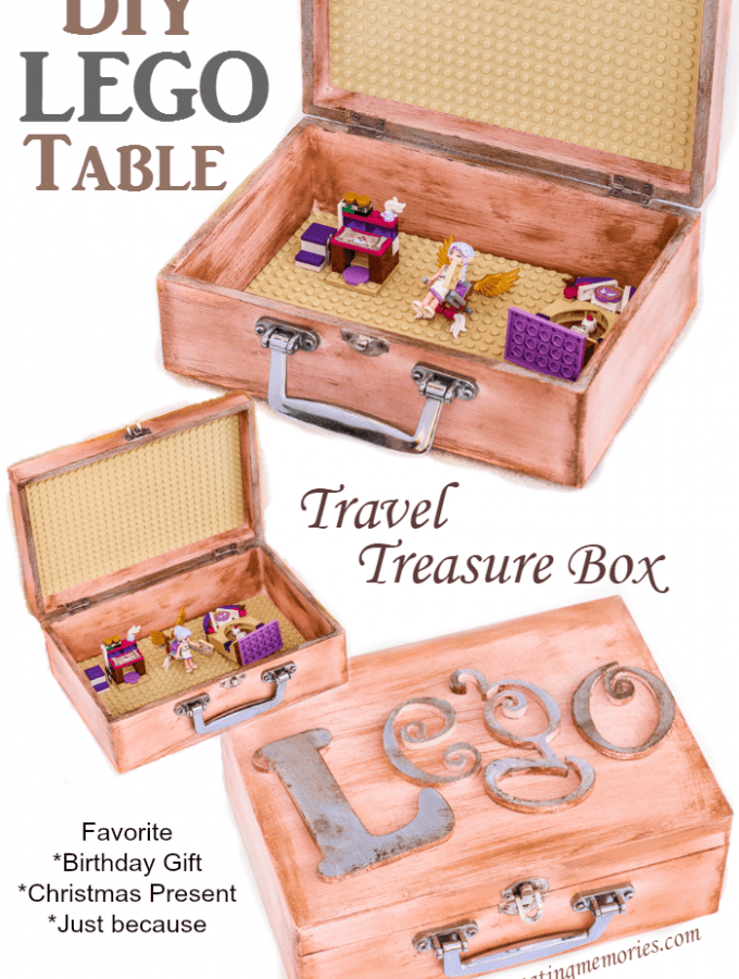 Easy DIY Travel Lego Table Treasure Box