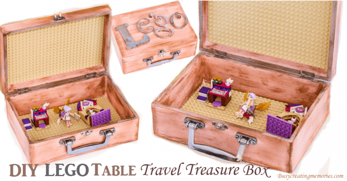 DIY Travel Lego Table Treasure Box