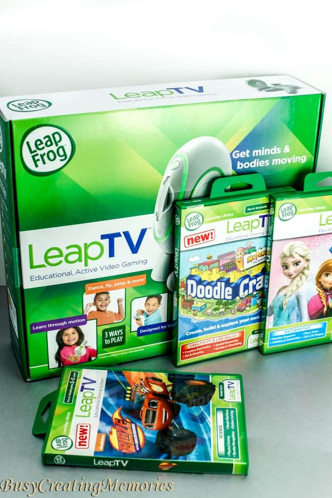 LeapFrog LeapTV bundle the perfect learning game system for kids.