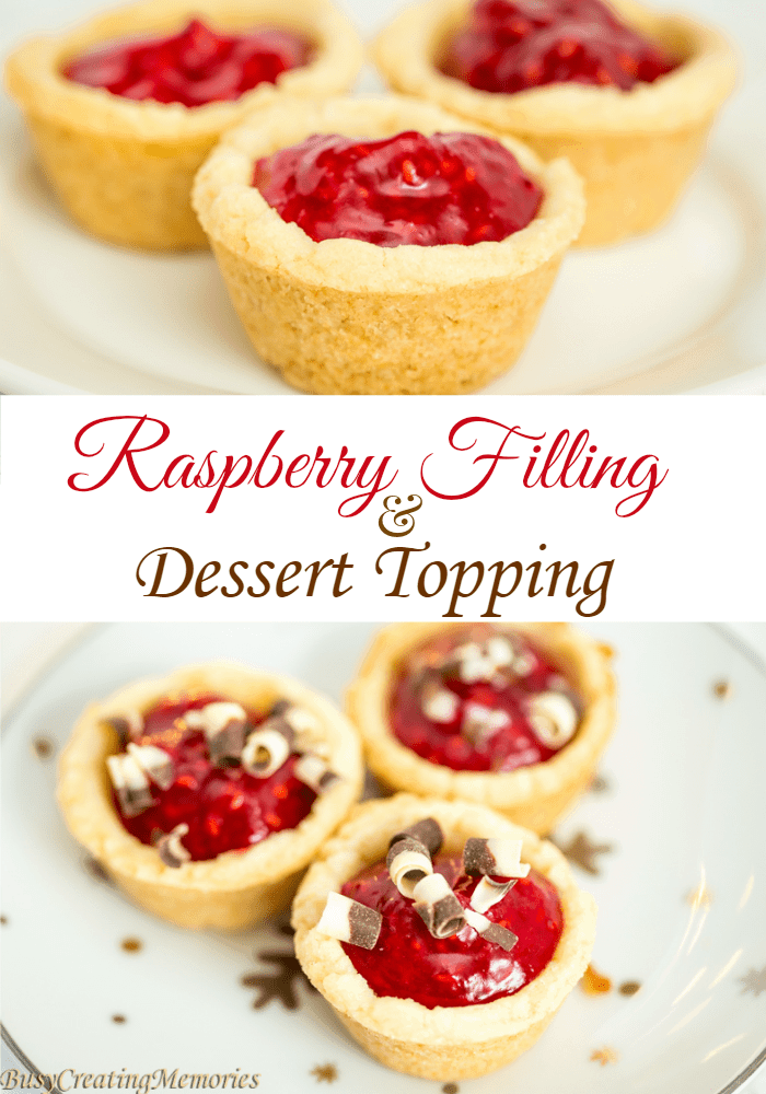 Raspberry Filling for Baked Treats