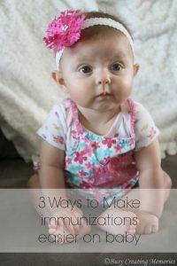 Three Ways to Make Immunizations Easier on Baby