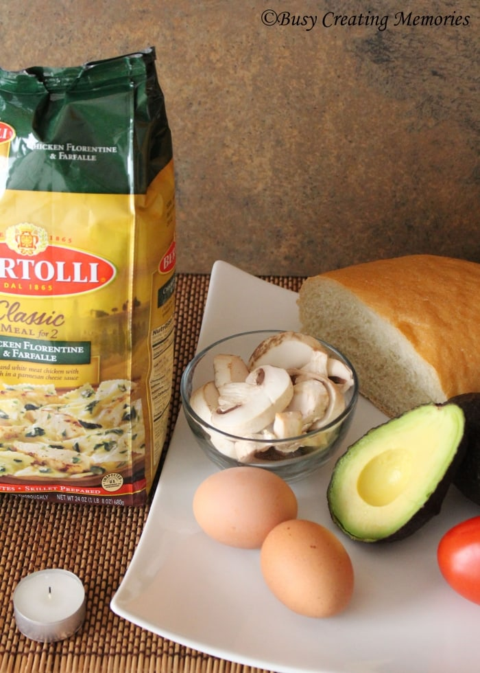 Mangia Tonight with this delicious Bertolli dinner and hearty salad!