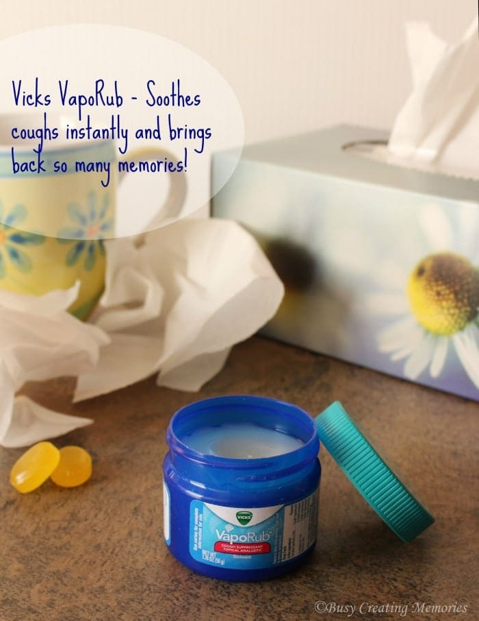 When you're sick and need instant relief, reach for Vicks VapoRub, just like mom did!