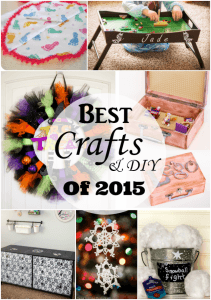 Ten Best Crafts and DIY projects of 2015