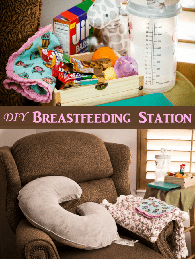 Easy set up Breastfeeding Station essentials