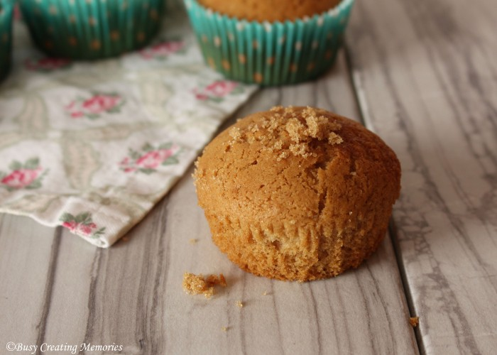 Brown sugar muffins are the perfect treat