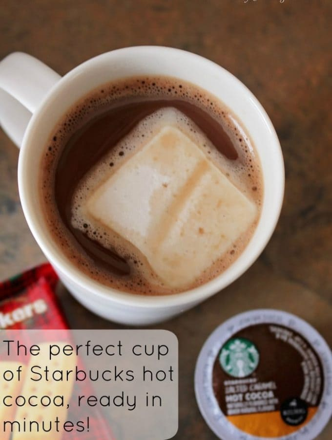 Warm up right with Starbucks Hot Cocoa K-cups
