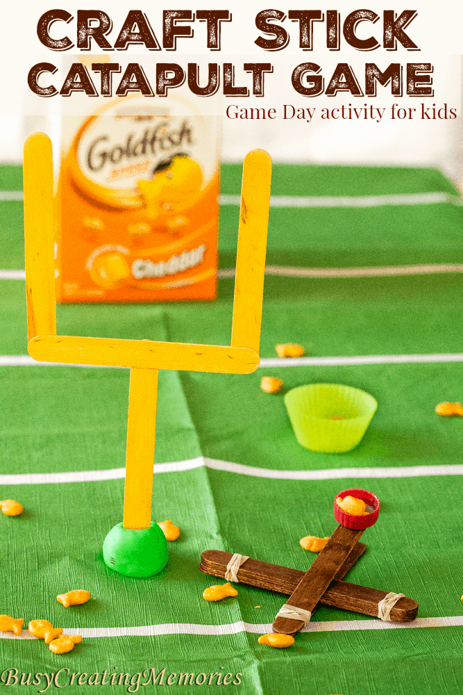craft stick catapult game for fun game day party game for kids adults