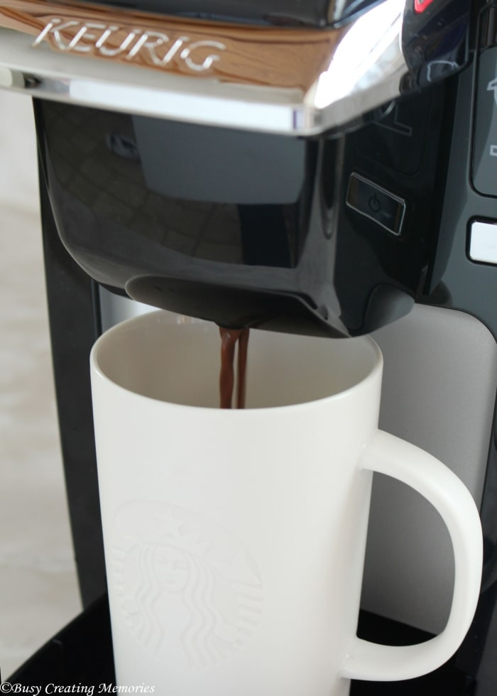 Hot cocoa at the press of a button - Yes please!