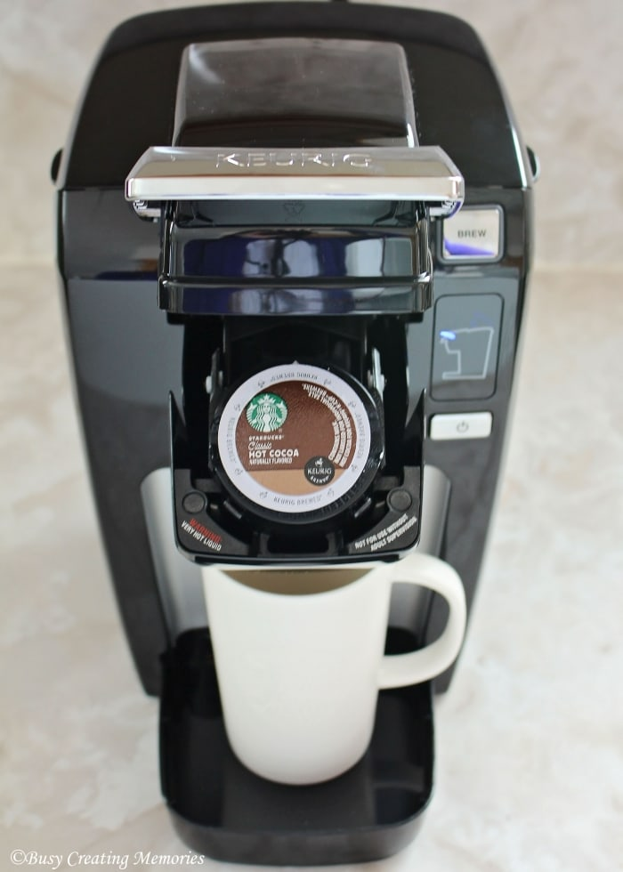 Starbucks hot cocoa for your Keurig