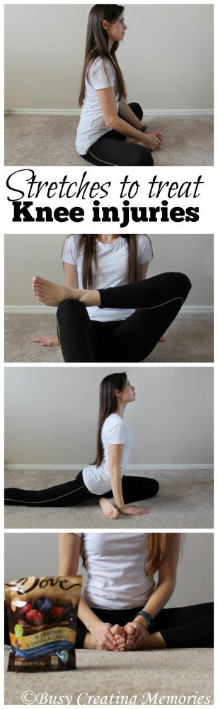 Stretches to treat knee injuries